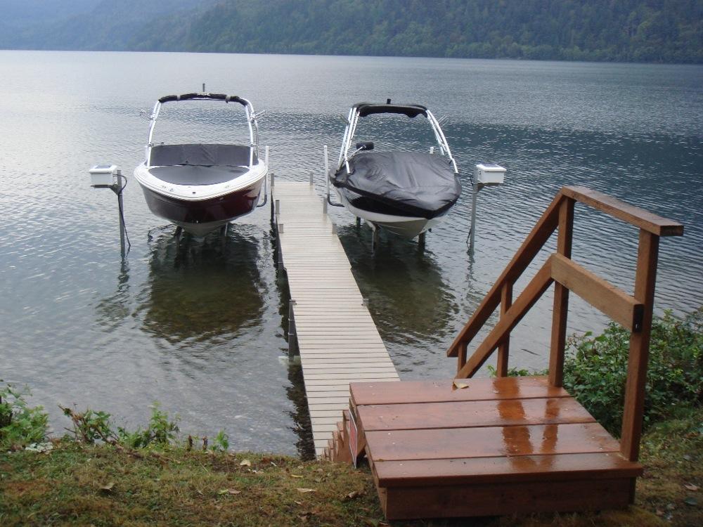 Miljövänliga båtlyftar från Sunstream