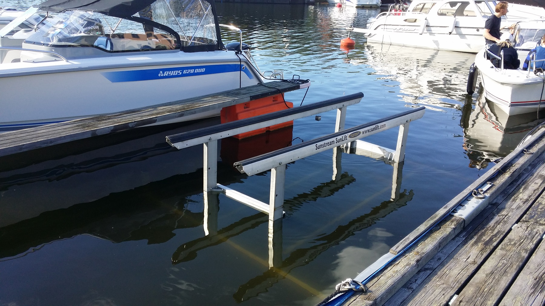 Båtlyft marina