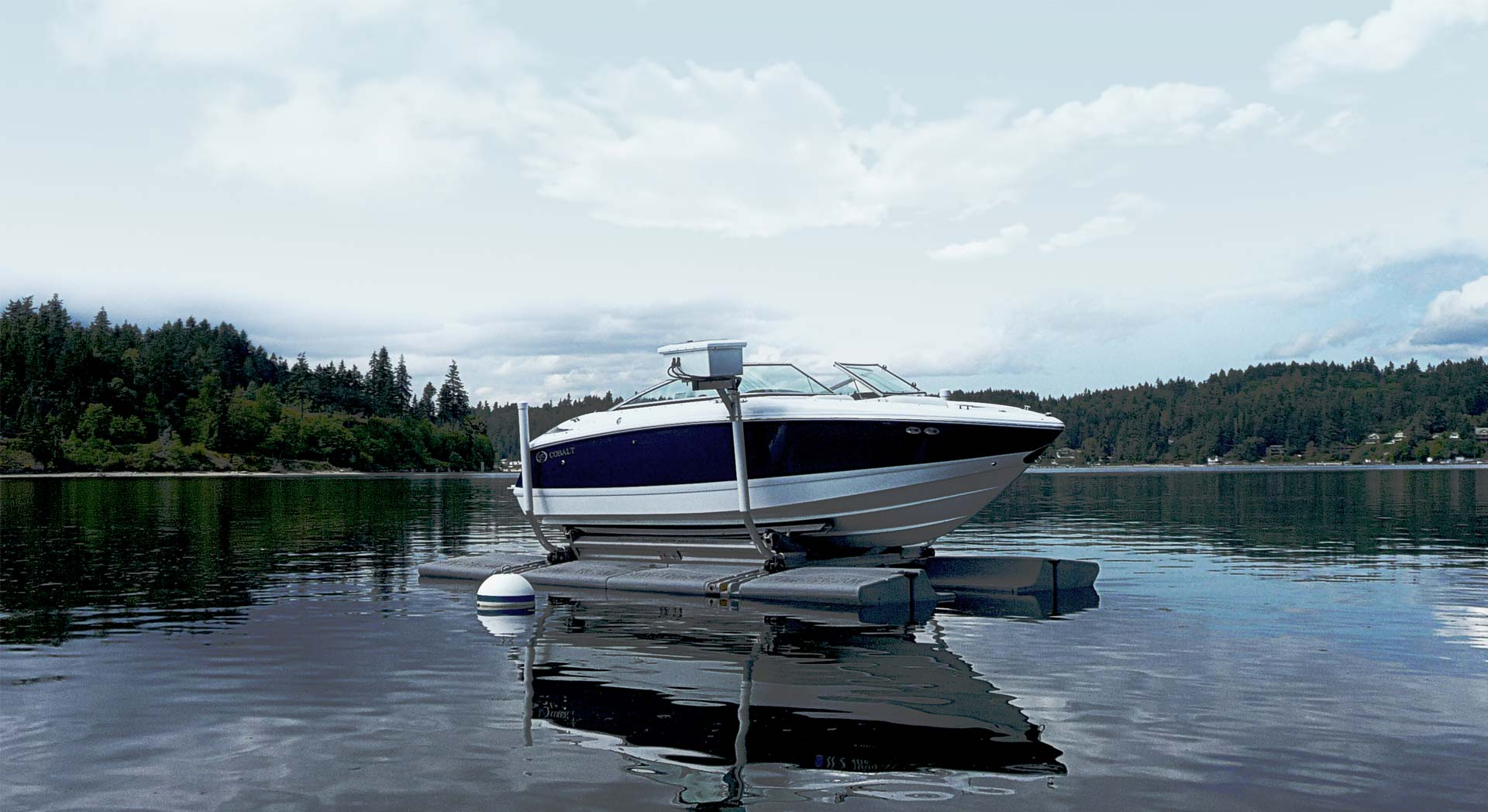 Flytande båtlyft Sunstream Floatlift